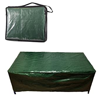 large garden furniture cover. GARDEN FURNITURE COVER LARGE PLASTIC WATERPROOF PATIO OUTSIDE (Green) Large Garden Furniture Cover I