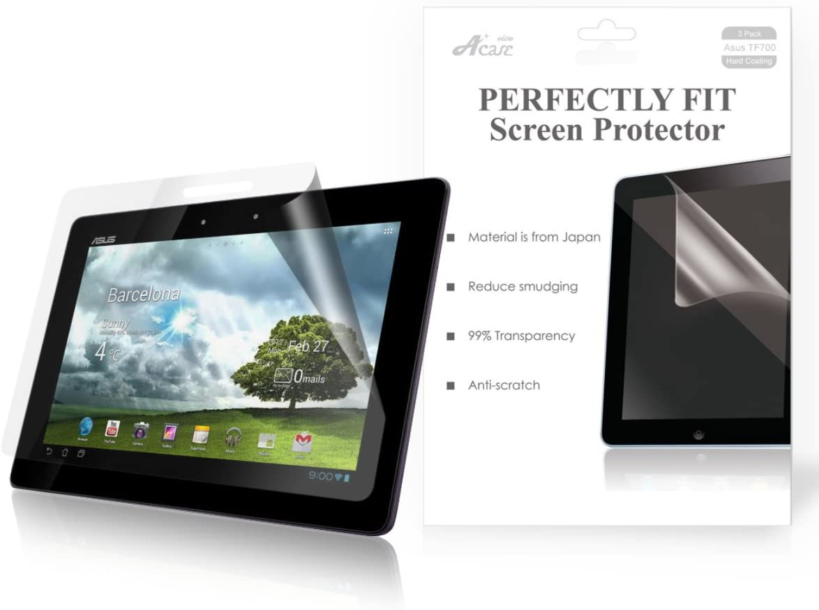 "3 Pack Clear Tablet Screen Protector Guard For 10.1/"" ASUS Transformer Pad TF300T"