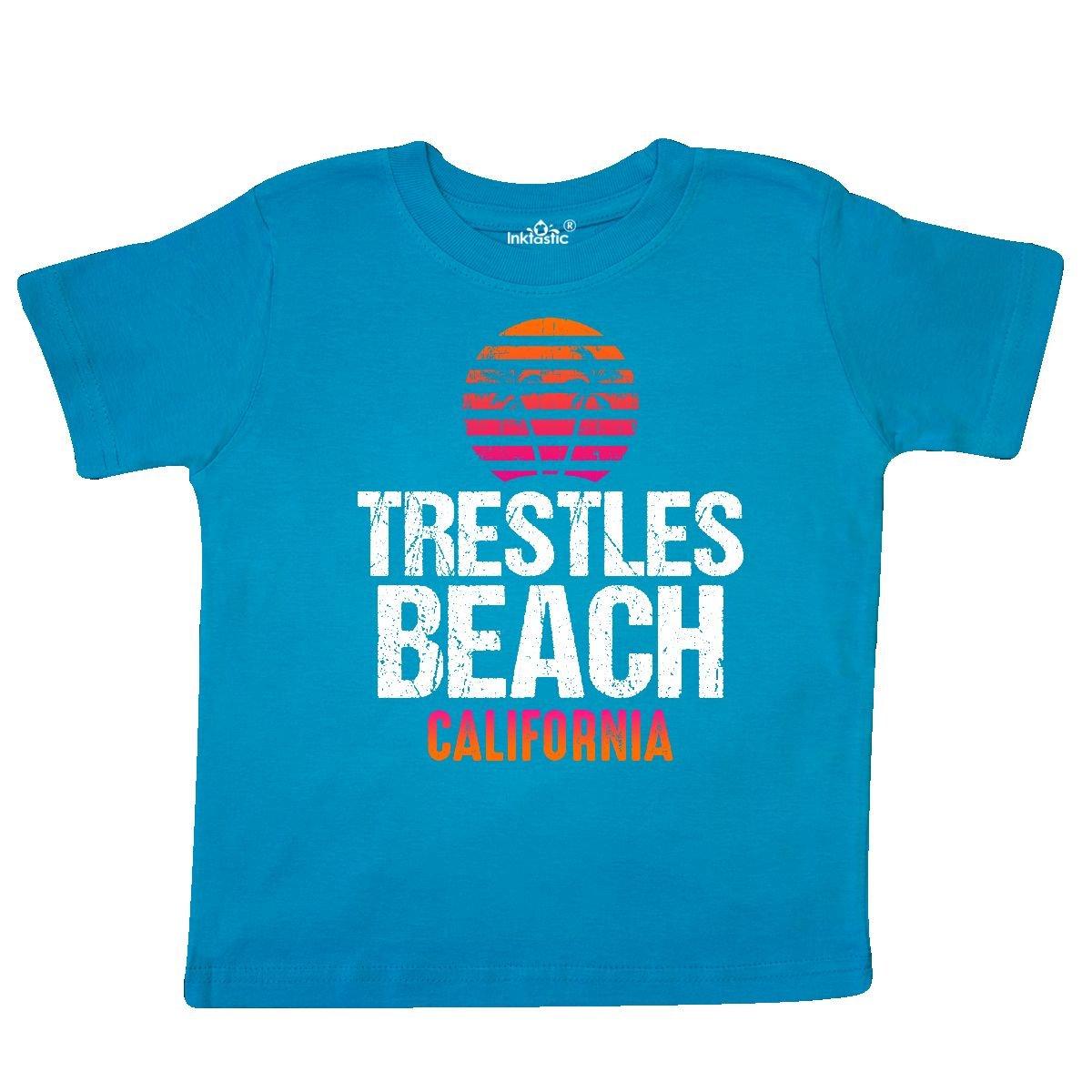 inktastic Sunset Trestles Beach Toddler T-Shirt