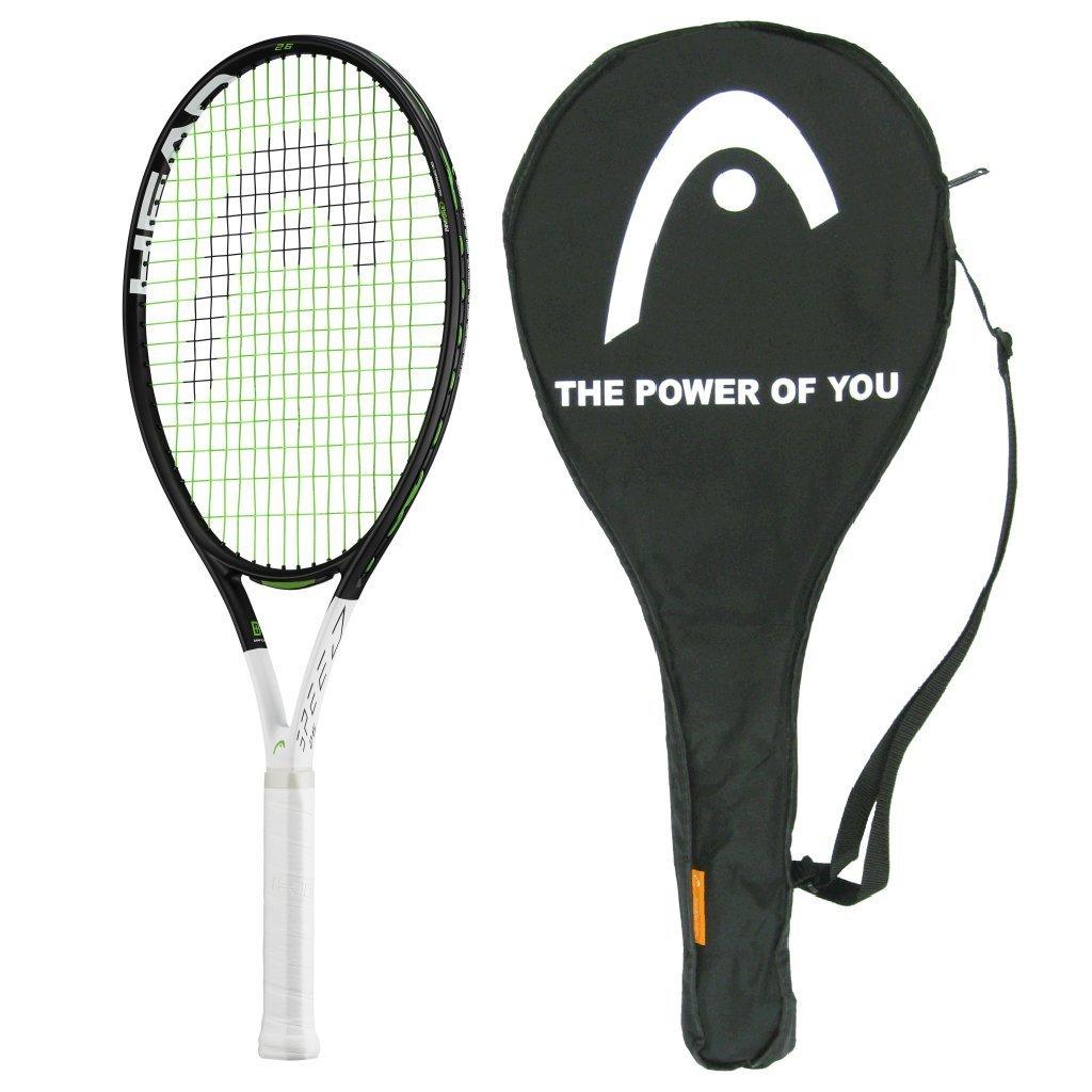 2017 Racquet Head 2017 Grapheneタッチ速度25 Junior Tennis Racquet – Strung Adult品質 with Cover and Youth Hat – スケールダウンTop Adult品質 B01EHUM80S, 名入れプレゼント ドットボーダー:250be99c --- cgt-tbc.fr