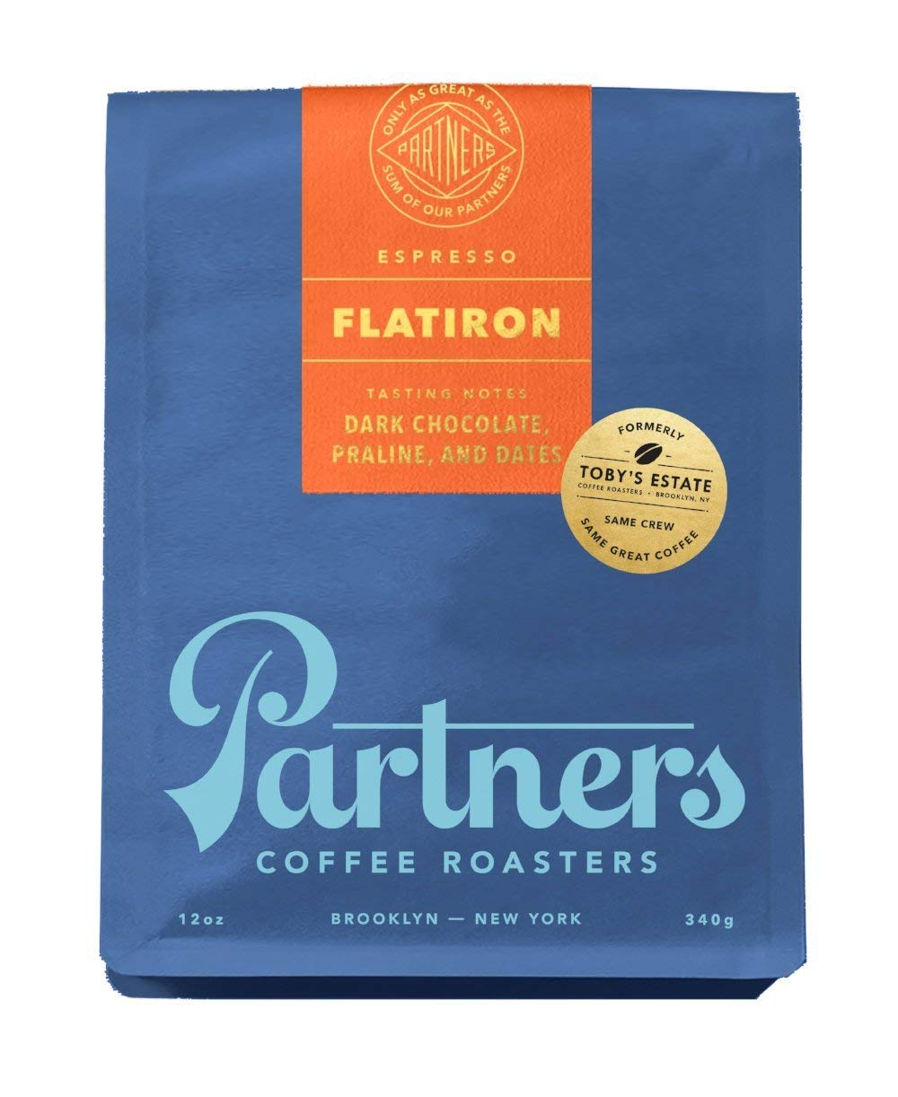 Toby's Estate Coffee, Flatiron Espresso Blend 5lb bag, Whole Bean Coffee by Toby's Estate Coffee (Image #1)