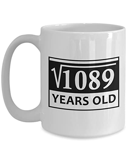 Unique Gifts For Her 33th Birthday Mugs 15 Oz