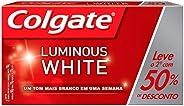 Colgate Luminous White, Creme Dental Terapêutico, 70g , Pacote com 2 unidades