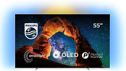 Philips 55OLED803/12 - Televisor Ambilight Smart TV de 139 cm (55 pulgadas) con 4K UHD, P5 Perfect Picture Engine, Ultra HD Premium, 99 % Wide Color Gamut y Android TV: 1195.81: Amazon.es: Electrónica