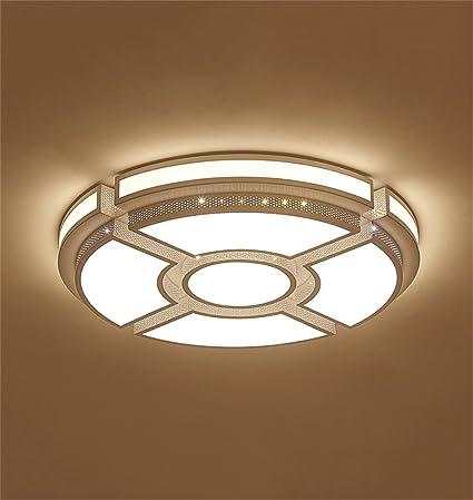 Ali@Luces de techo Lámpara de techo minimalista moderna Círculo ...