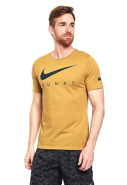956a726178323 Nike Playera Pumas M Nk Dry Tee Preseason Playera para Hombre Dorado ...