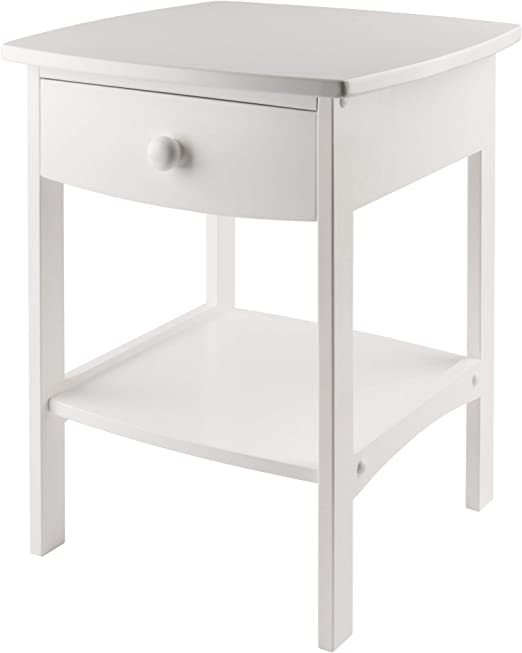 Winsome Wood Claire Accent Table Natural