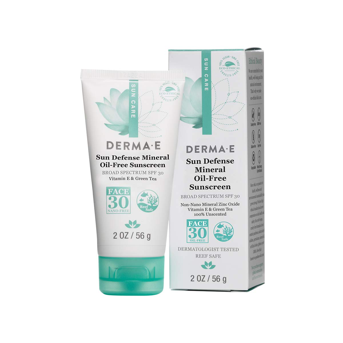 The DERMA E Natural Mineral Sunscreen travel product recommended by Vanessa on Pretty Progressive.