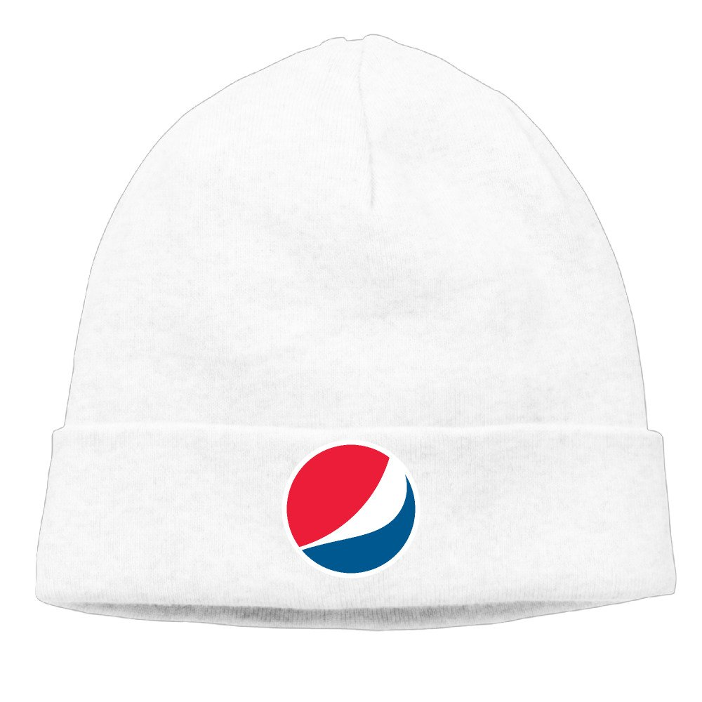 Amazon.com  Unisex Pepsi Logo 85% Cotton Ski Hat White  Clothing 886d2288a45