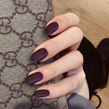 Amazon.com: Asooll - Esponja de uñas postizas de color rojo ...