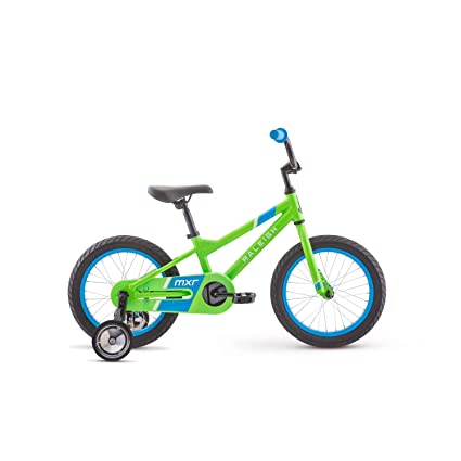 812f58299a9 Image Unavailable. Image not available for. Color  RALEIGH Bikes MXR 16  Kids Bike with Training Wheels for Boys Youth 3-5 Years