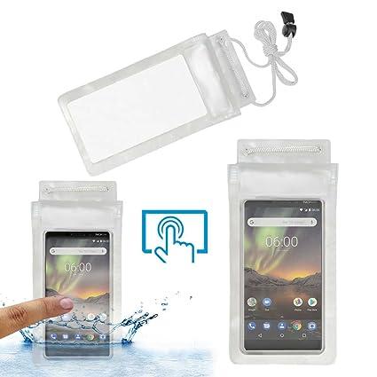 online store b3d25 eef48 Acm Waterproof Bag Case for Nokia 6 Mobile: Amazon.in: Electronics