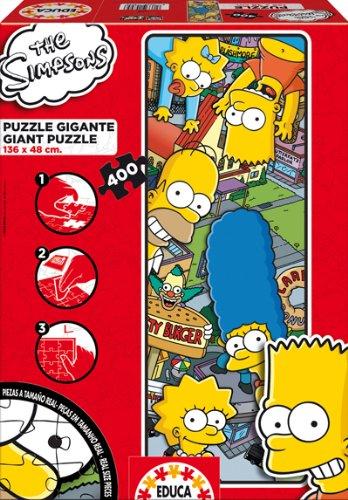 Educa 14895 Los Simpson - Puzzle gigante (400 piezas)https://amzn.to/2Z3VLpI