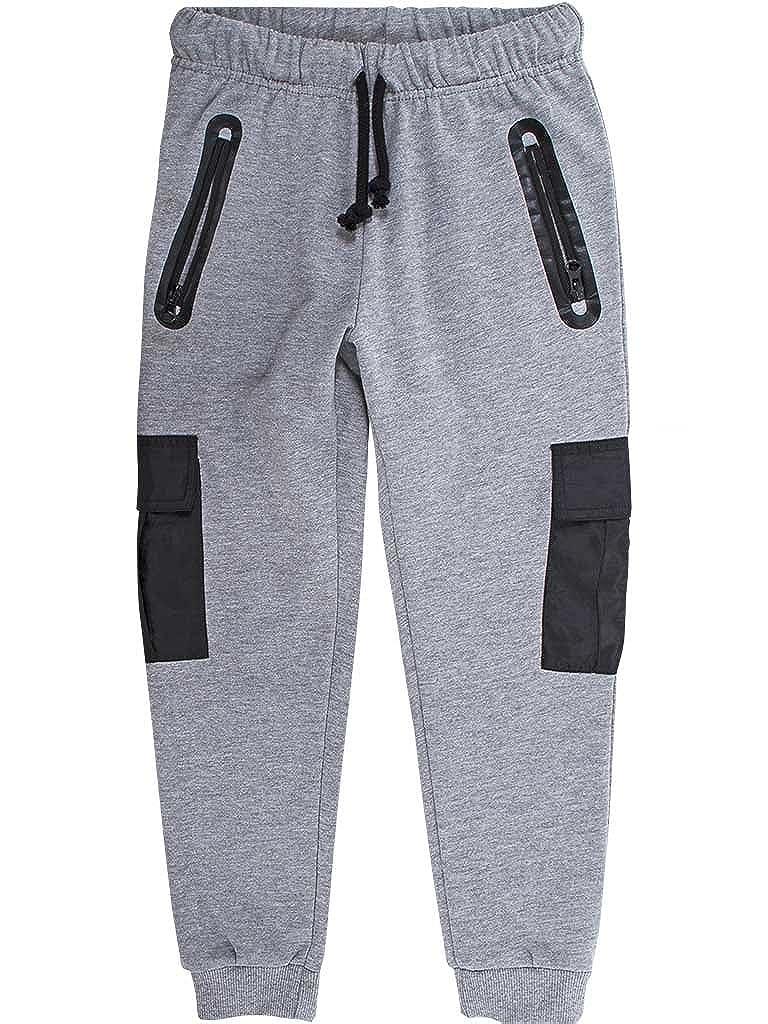Carrera Jeans - Pantalone tuta 730 per bambino, modello cargo, tessuto elasticizzato, vestibilità normale, vita regular