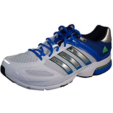 Adidas Supernova Sequence 5 Running Shoes - Running White/Metallic Silver/Prime  Blue (