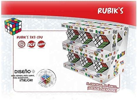 Goliath- Cubo DE RubikS 3X3 ¡Ahora MAS RAPIDO Y Suave! EXP. 18 Piezas, (72156): Amazon.es: Juguetes y juegos