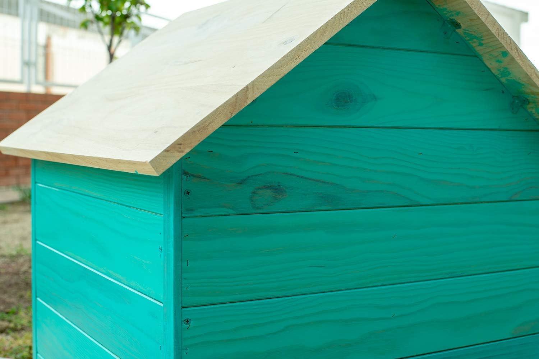 Luminos - LUM1118 -COAST GREEN- Barniz Lasur al Agua Protector Para Madera Exterior Color Verde Costa, 1L