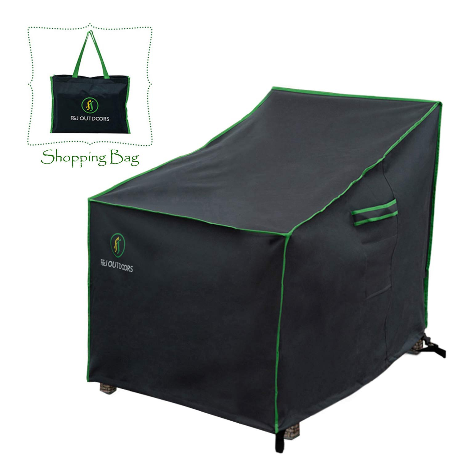 Duck Covers Soteria Rainproof Stackable Patio Chair Cover