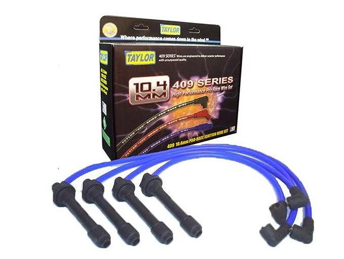Taylor Cable 79671 409 Pro-Race Spiro-Wound Core Spark Plug Wire Set