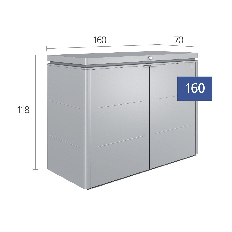 Biohort 70015 High tarjeta Talla 160 quarzgrau de Metallic ...