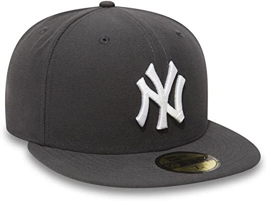 A NEW ERA MLB Basic NY Yankees 59 Fifty Fitted Gorra, Hombre ...