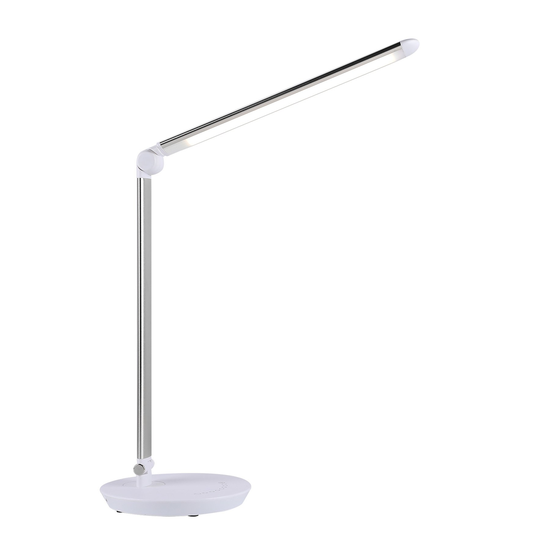 CO-Z LED Desk Lamp with USB Charging Port, Eye-Caring Rotatable Table Task Reading Lamp, Dimmable Touch Control Adjustable Home Office Laptop Computer Lamp with 7 Brightness Levels for Study Working