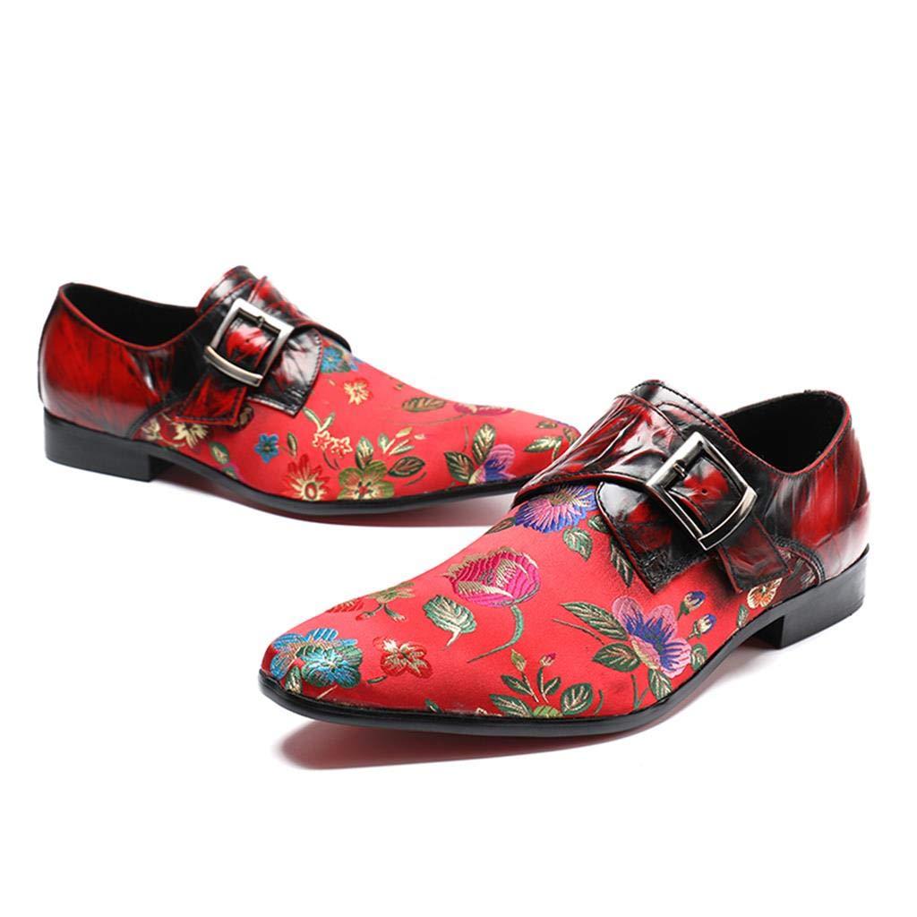 Mr.Zhang's Art Home Männer Geschnitzte Schuhe Lässige Geschnitzte Männer Herrenschuhe für Business 338473