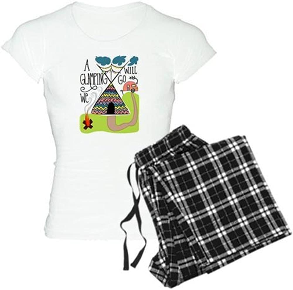 Glamping Women/'s PJ Bottoms