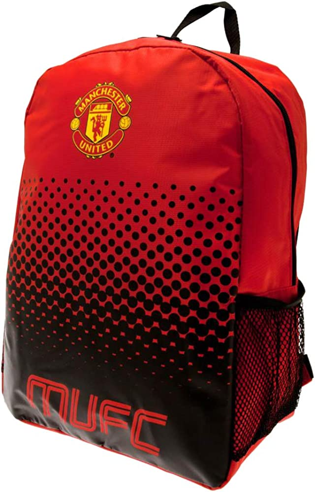 Backpack School Bag Manchester United Man Utd Gifts