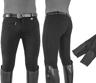 Umbria Equitazione EQUESTRO Pantaloni Uomo Modello Urano Cotone Elasticizzato
