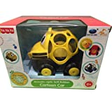 BIRANCO. Rattle and Roll Bus Cartoon Car Toy Gift