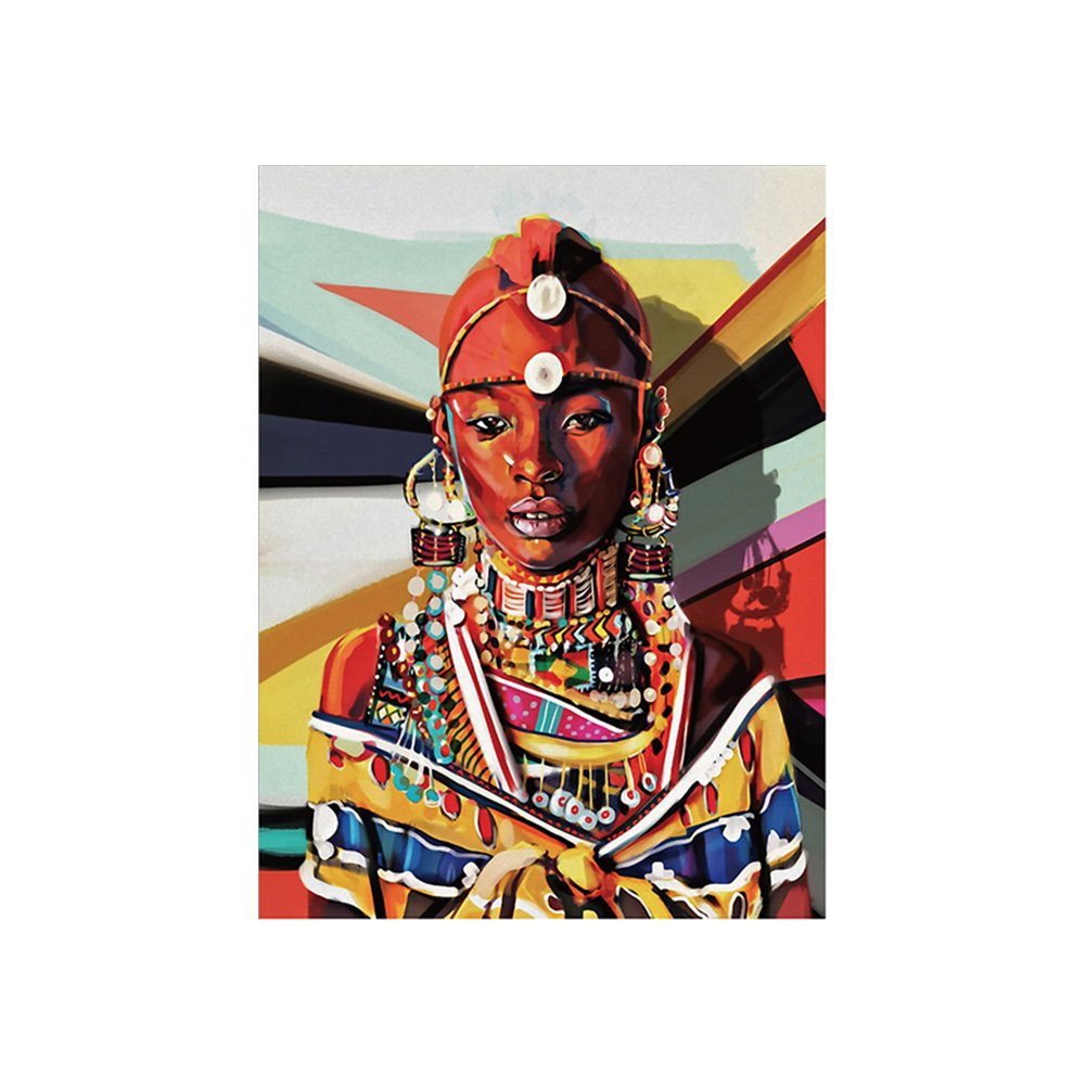 Amazon com: millet16zjh Art Craft Abstract Exotic Woman Wall