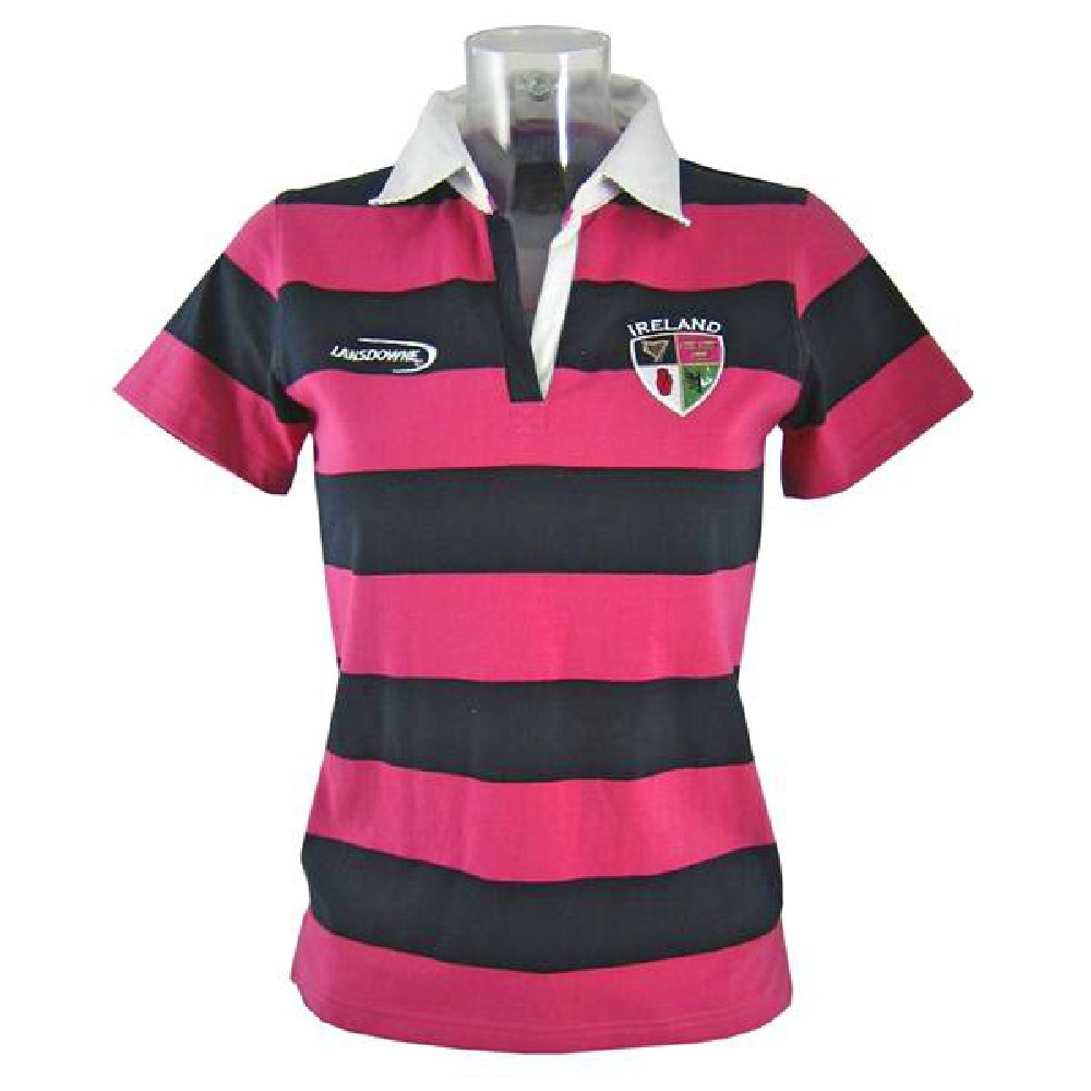 1445ee6fc9c Ladies Striped Rugby Shirts - DREAMWORKS