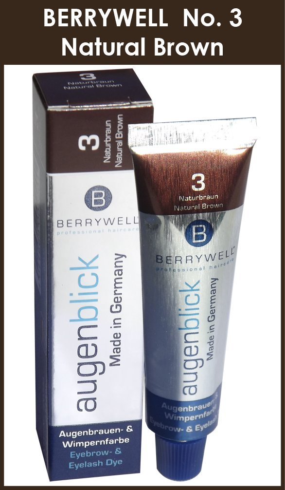 Amazon.com : Berrywell Augenblick NATURAL BROWN (No. 3.0) Tint ...
