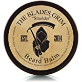 The Blades Grim – Beard Balm, Handmade in The USA (Smolder, 2oz)