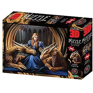 Anne Stokes As10093 3d Puzzle Multi 61 Cm X 46 Cm
