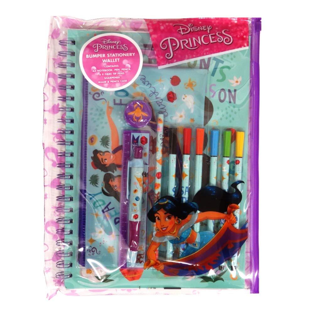 Princess Jasmine Disney Bumper Stationery Wallet