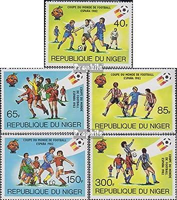 Prophila Collection Níger Michel.-No..: 767-771 (Completa.edición.) 1981 Fútbol WM España (Sellos para los coleccionistas) fútbol: Amazon.es: Juguetes y juegos