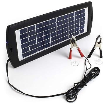Eco Power Ship (EPS) Cargador de batería Solar, 12 V, 3 W ...