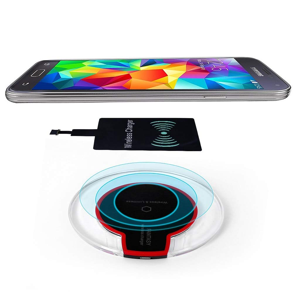 Amazon.com: Taco Mocho Universal Wireless Charger Receiver ...