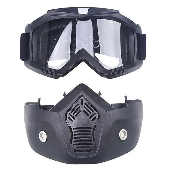 originaltree Winter Sport Anti UV-Snow Maske Helm Eyewear Sonnenbrille Snowboard Ski Goggle, silber