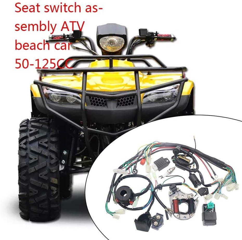 Electrics Stator Coil CDI Harnais de c/âblage pour 4 temps ATV KLX 50cc 70cc 110cc 125cc Quad Bike Buggy Go Kart Pit Dirt Bikes