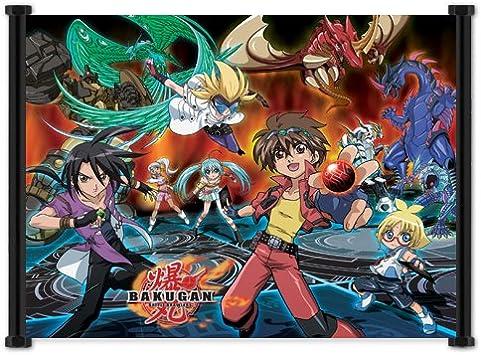 Mini Poster Anime Adventure BAKUGAN New * 40cm x 50cm