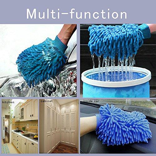 huabei gant de chenille etanche pour lavage de voiture et chiffon microfibre best. Black Bedroom Furniture Sets. Home Design Ideas