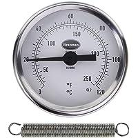 Carcasa rígida-colocar en tuberías termómetro/termómetro para tuberías