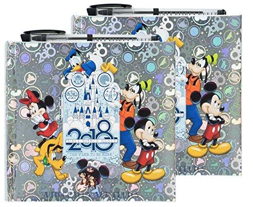 Disney Albums Autograph (Disney Parks Bundle of 2-2018 Walt Disney World Autograph and Photograph Book with Pen)