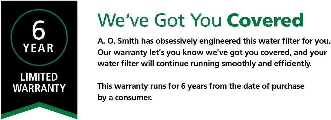 AO Smith water softener reviews descaler warranty