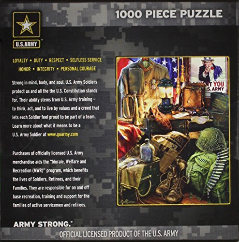 Masterpieces Masterpieces Masterpieces Men of Honor Hometown Heroes Jigsaw Puzzle (1000-Piece) by MasterPieces 2db06a