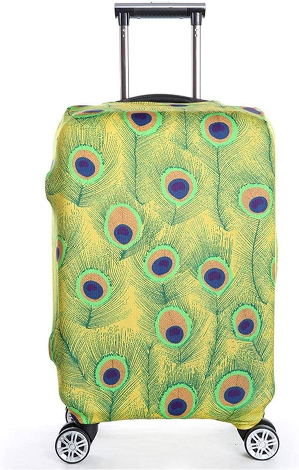 Color : G, Size : M 22-24 DHUYUN-Bag Luggage Cover Protector Easy to Recognize Washable Travel Luggage Cover Anti-Scratch Baggage Covers Fits 18 to 32 Inch Luggage Washable Baggage Covers