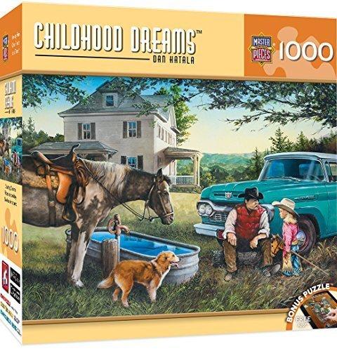 MasterPieces Childhood Dreams Cowboy Dreams Puzzle (1000 Piece) by MasterPieces